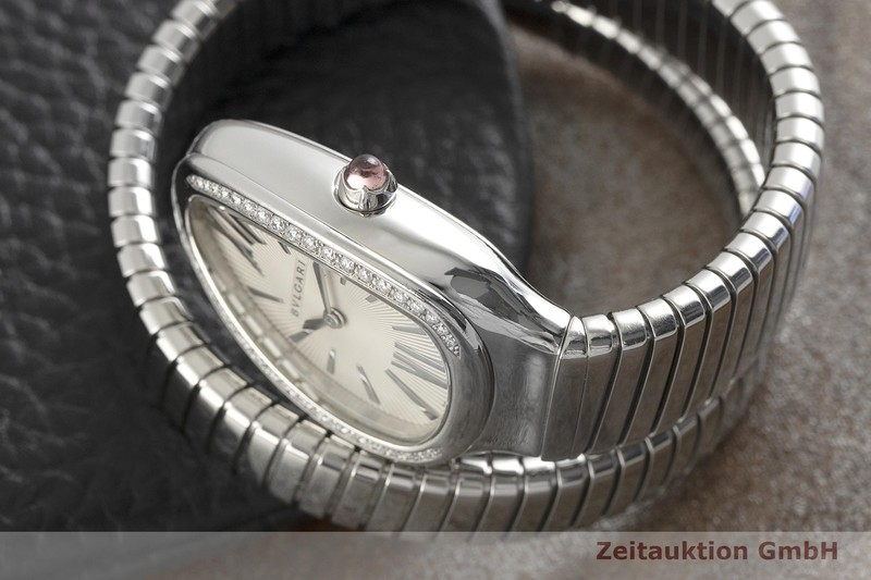 gebrauchte Luxusuhr Bvlgari Serpenti Stahl Quarz Kal. ETA E01001 Ref. SP35S    2002560 _1
