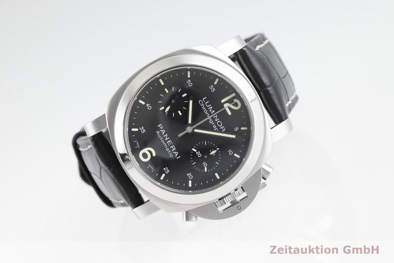 gebrauchte Luxusuhr Panerai Luminor  Chronograph Stahl Handaufzug Kal. OP12, ETA 7753 Ref. PAM00310, OP6739  | 2002563 _0