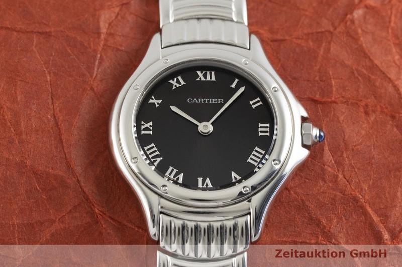gebrauchte Luxusuhr Cartier Cougar Stahl Quarz Kal. 690 Ref. 12151    2002577 _1