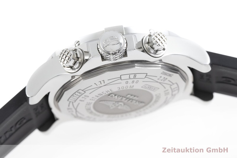gebrauchte Luxusuhr Breitling Super Avenger II Chronograph Stahl Automatik Kal. B13, ETA 7750 Ref. A13371  | 2002585 _0