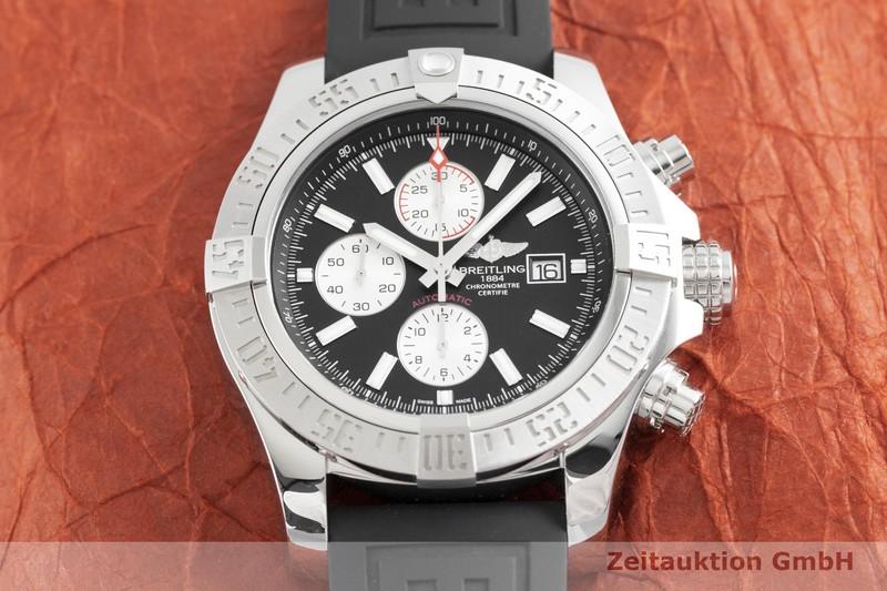 gebrauchte Luxusuhr Breitling Super Avenger II Chronograph Stahl Automatik Kal. B13, ETA 7750 Ref. A13371  | 2002585 _1