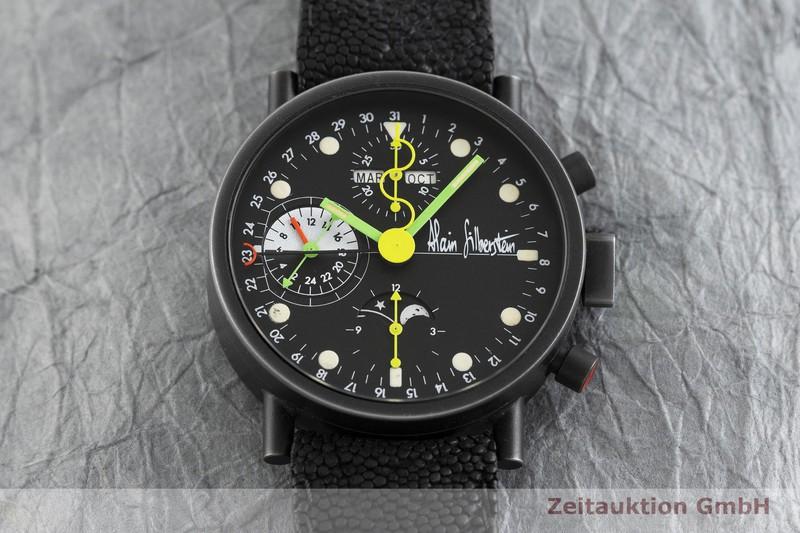 gebrauchte Luxusuhr Alain Silberstein Krono Chronograph Stahl Automatik Kal. Valjoux 7751  | 2002592 _1