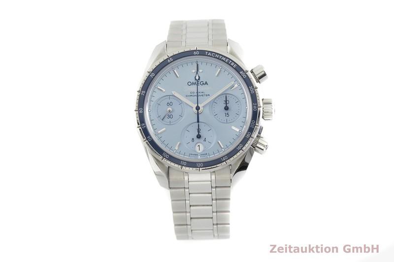 gebrauchte Luxusuhr Omega Speedmaster Chronograph Stahl Automatik Kal. 3330 Ref. 324.30.38.50.03.001  | 2002601 _1