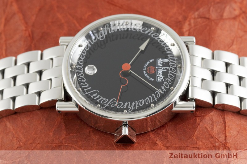 gebrauchte Luxusuhr Alain Silberstein Klub Stahl Automatik Kal. ETA 2892-A2 LIMITED EDITION | 2002602 _0