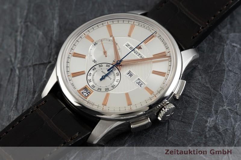 gebrauchte Luxusuhr Zenith El Primero Chronograph Stahl Automatik Kal. 4054 Ref. 03.2070.4054  | 2002626 _0