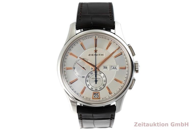 gebrauchte Luxusuhr Zenith El Primero Chronograph Stahl Automatik Kal. 4054 Ref. 03.2070.4054  | 2002626 _1