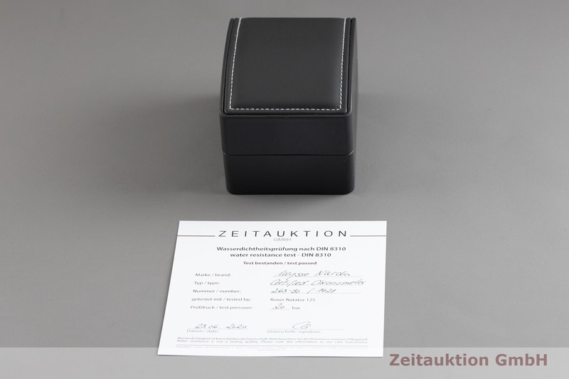 gebrauchte Luxusuhr Ulysse Nardin Marine Chronometer Stahl Automatik Kal. UN 26, ETA 2892-A2 Ref. 263-90  | 2002633 _0