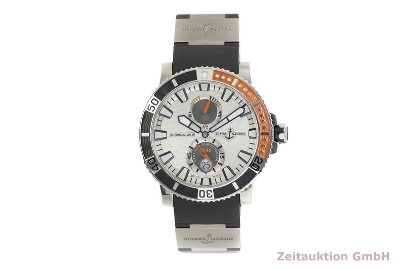 gebrauchte Luxusuhr Ulysse Nardin Marine Chronometer Stahl Automatik Kal. UN 26, ETA 2892-A2 Ref. 263-90  | 2002633 _1