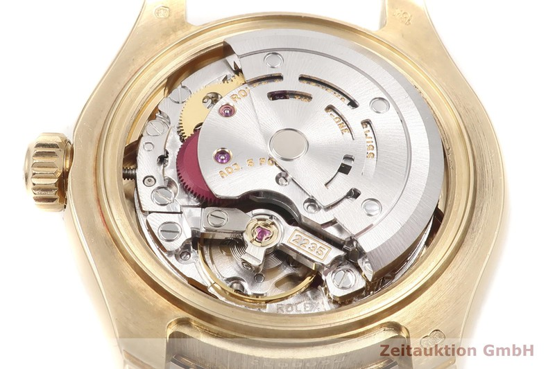 gebrauchte Luxusuhr Rolex Datejust 18k Gold Automatik Kal. 2235 Ref. 80318  | 2002635 _0