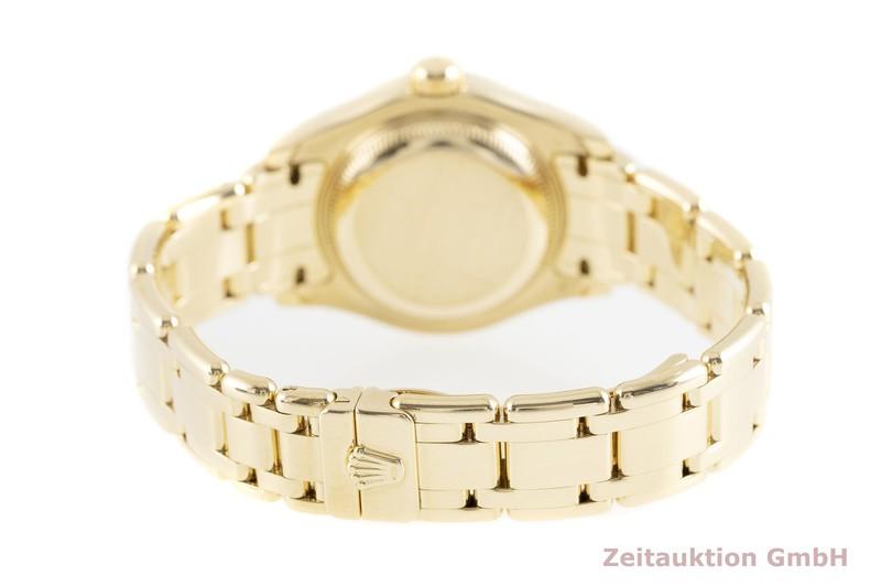 gebrauchte Luxusuhr Rolex Datejust 18k Gold Automatik Kal. 2235 Ref. 80318  | 2002635 _1