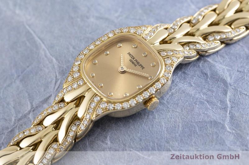 gebrauchte Luxusuhr Patek Philippe La Flamme 18k Gold Quarz Kal. E15 Ref. 4715/3  | 2002636 _0