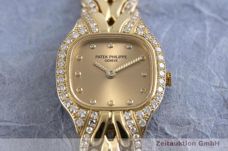 gebrauchte Luxusuhr Patek Philippe La Flamme 18k Gold Quarz Kal. E15 Ref. 4715/3  | 2002636 _1