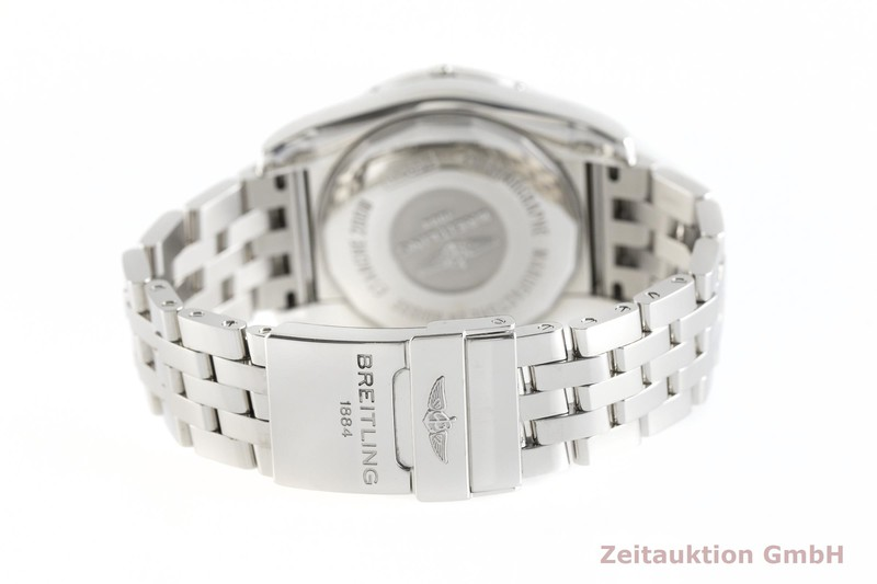 gebrauchte Luxusuhr Breitling Chronomat 44 GMT Chronograph Stahl Automatik Kal. B04 Ref. AB0420  | 2002658 _1