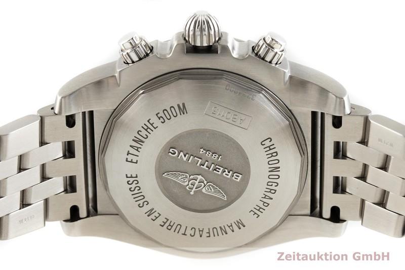 gebrauchte Luxusuhr Breitling Chronomat 44 Chronograph Stahl Automatik Kal. B01 Ref. AB0115  | 2002659 _0
