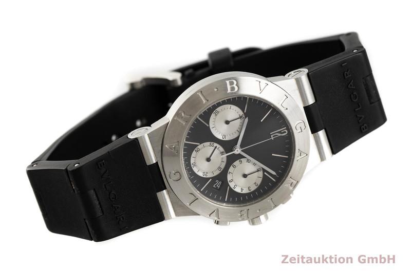 gebrauchte Luxusuhr Bvlgari Diagono Chronograph Stahl Quarz Kal. 1270 Ref. CH35S  | 2002685 _0