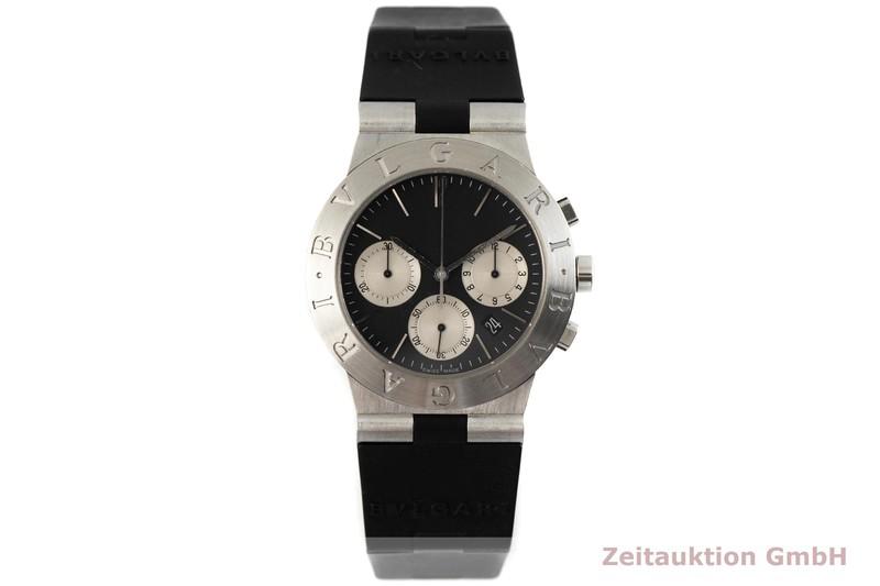 gebrauchte Luxusuhr Bvlgari Diagono Chronograph Stahl Quarz Kal. 1270 Ref. CH35S  | 2002685 _1
