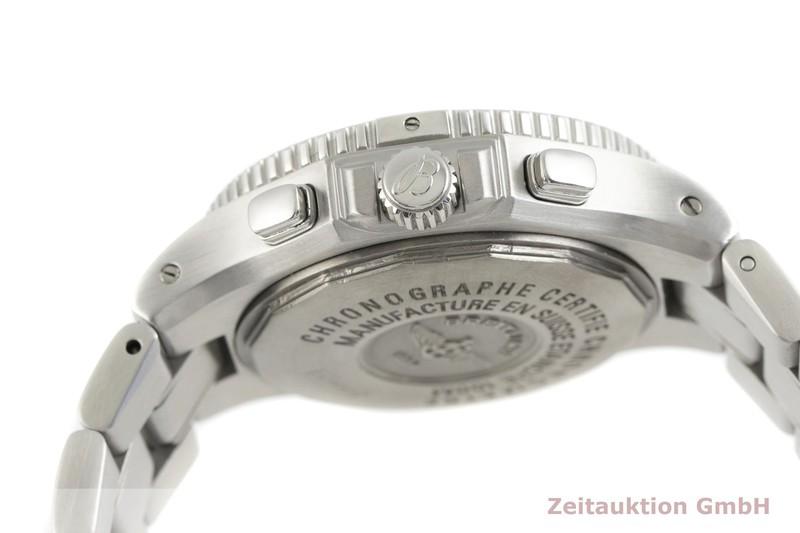 gebrauchte Luxusuhr Breitling Hercules Chronograph Stahl Automatik Kal. B39, ETA 2892-A2 Ref. A39362  | 2002688 _0