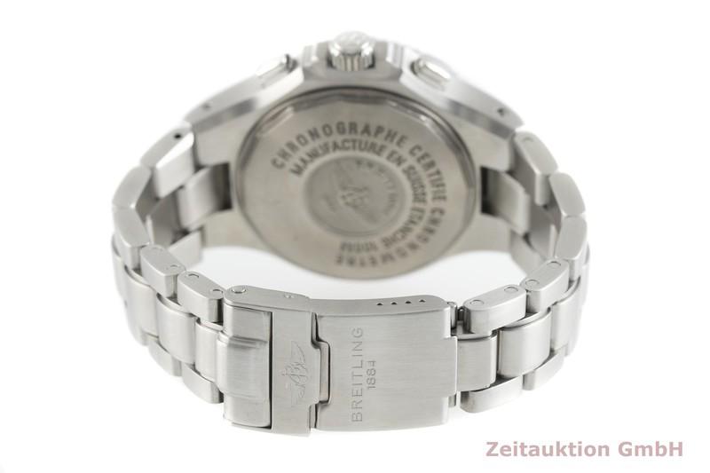 gebrauchte Luxusuhr Breitling Hercules Chronograph Stahl Automatik Kal. B39, ETA 2892-A2 Ref. A39362  | 2002688 _1