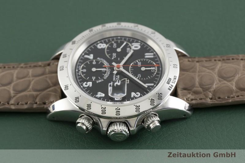 gebrauchte Luxusuhr Tudor Prince Date Chronograph Stahl Automatik Kal. ETA 7750 Ref. 79280P    2002700 _0