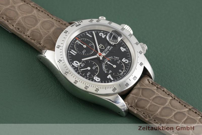 gebrauchte Luxusuhr Tudor Prince Date Chronograph Stahl Automatik Kal. ETA 7750 Ref. 79280P    2002700 _1