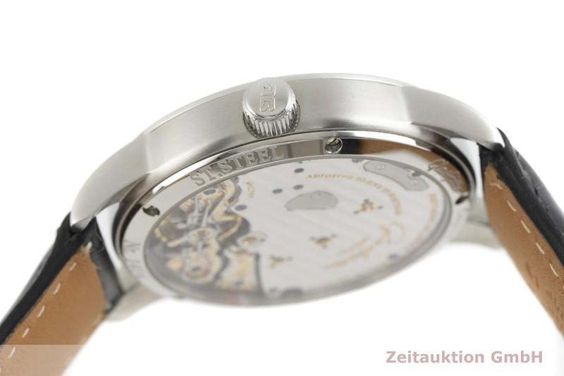 gebrauchte Luxusuhr Glashütte PanoReserve Stahl Handaufzug Kal. GUB 65 Ref. 65-01-02-02-04  | 2002701 _0