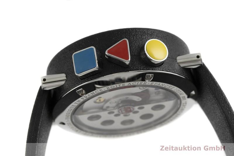 gebrauchte Luxusuhr Alain Silberstein Krono Bauhaus Chronograph Stahl / Kautschuk Automatik Kal. LWO 5100 LIMITED EDITION | 2002709 _0
