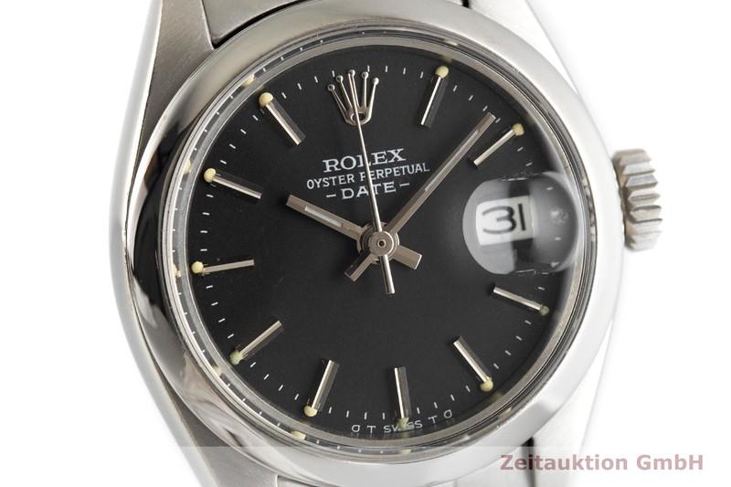 gebrauchte Luxusuhr Rolex Lady Date Stahl Automatik Kal. 2030 Ref. 6916  | 2002717 _0