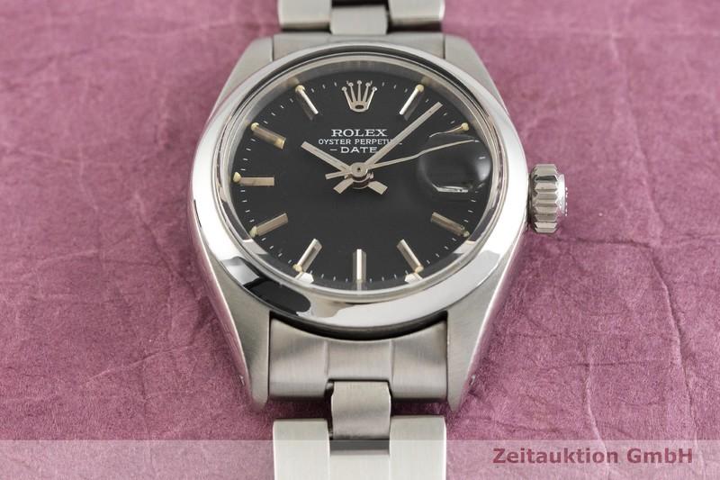 gebrauchte Luxusuhr Rolex Lady Date Stahl Automatik Kal. 2030 Ref. 6916  | 2002717 _1