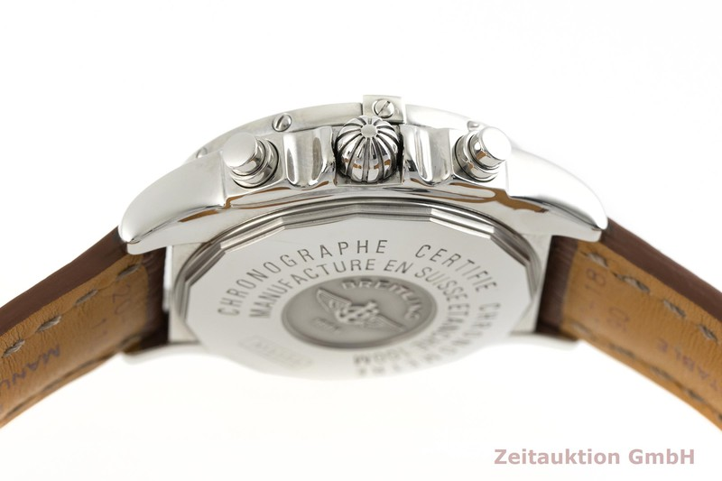gebrauchte Luxusuhr Breitling Cockpit Chronograph Stahl Automatik Kal. B13, ETA 7750 Ref. A13358  | 2002718 _0