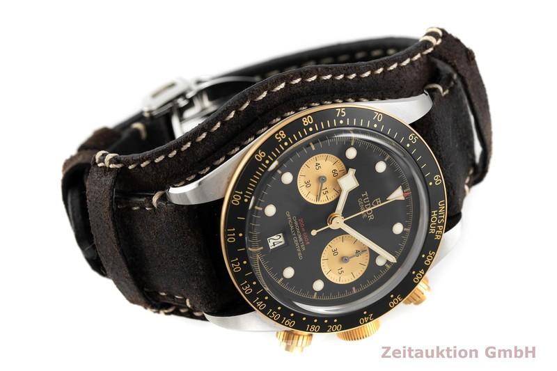 gebrauchte Luxusuhr Tudor Black Bay Chronograph Stahl / Gold Automatik Kal. MT5813 Ref. 79363N    2002731 _0