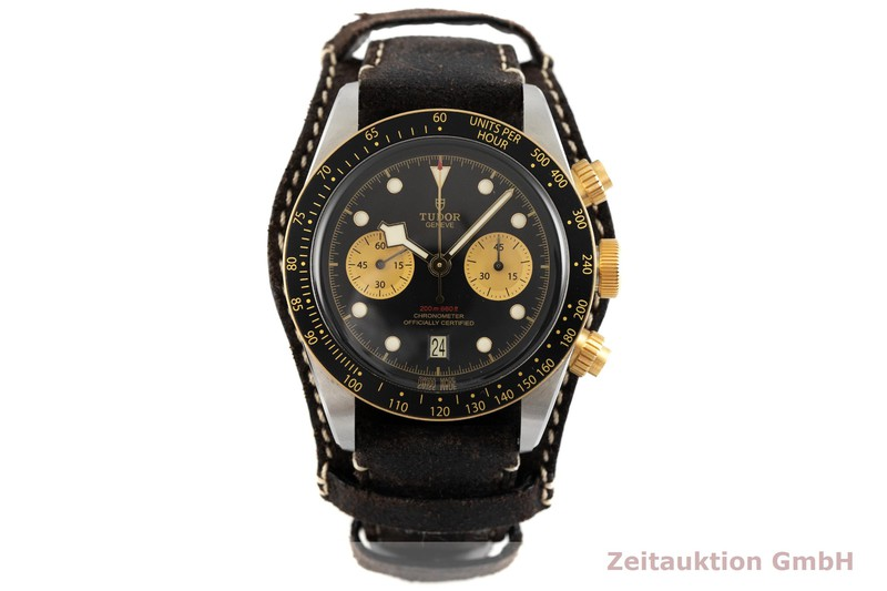 gebrauchte Luxusuhr Tudor Black Bay Chronograph Stahl / Gold Automatik Kal. MT5813 Ref. 79363N    2002731 _1