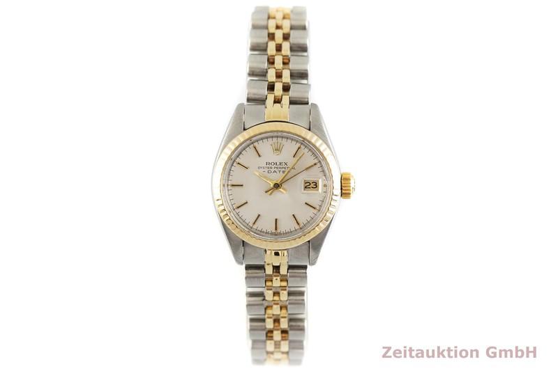 gebrauchte Luxusuhr Rolex Lady Date Stahl / Gold Automatik Kal. 2030 Ref. 6917  | 2002742 _1