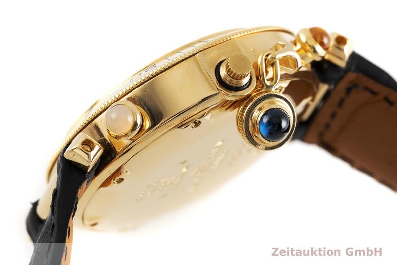 gebrauchte Luxusuhr Cartier Pasha Chronograph 18k Gold Quarz Kal. 606 Ref. 30018  | 2002743 _0