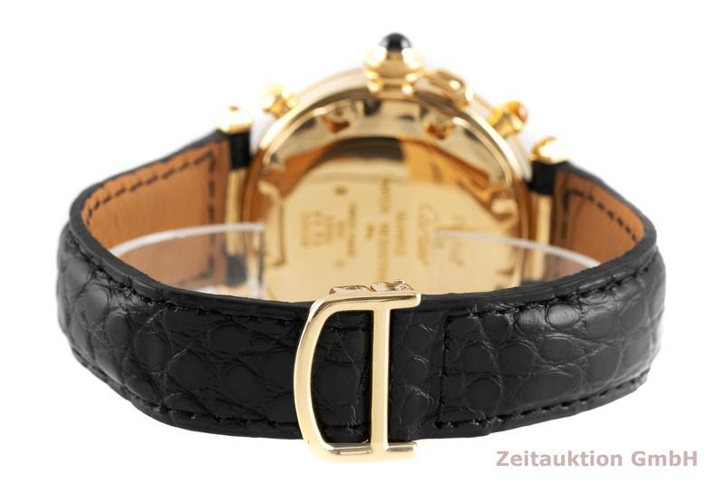gebrauchte Luxusuhr Cartier Pasha Chronograph 18k Gold Quarz Kal. 606 Ref. 30018  | 2002743 _1
