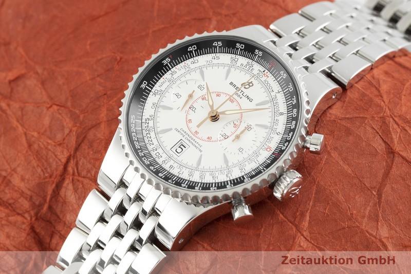 gebrauchte Luxusuhr Breitling Montbrillant Chronograph Stahl Automatik Kal. B23, ETA 7753 Ref. A23340  | 2002756 _0