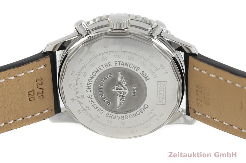 gebrauchte Luxusuhr Breitling Navitimer Cosmonaute Chronograph Stahl Automatik Kal. B22, ETA 2892-A2 Ref. A22322  | 2002758 _0
