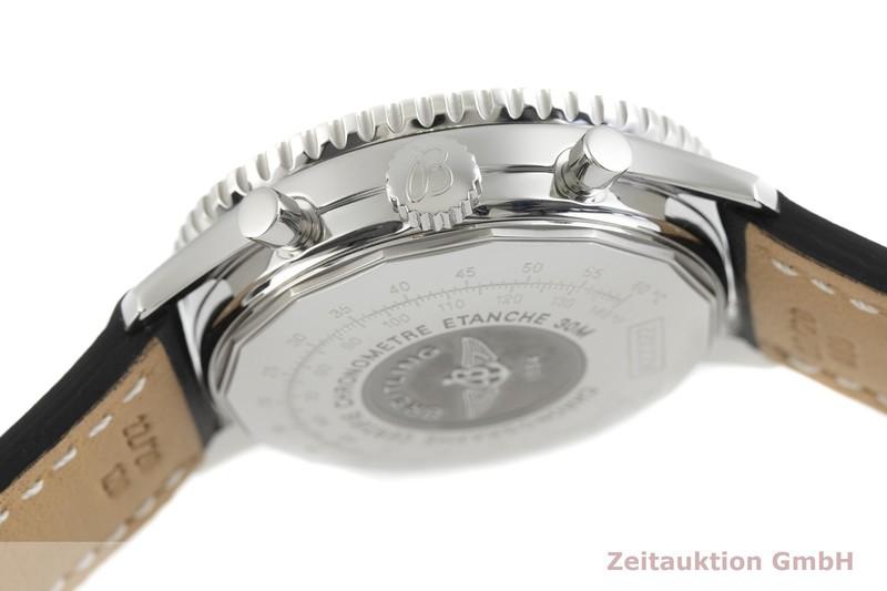 gebrauchte Luxusuhr Breitling Navitimer Cosmonaute Chronograph Stahl Automatik Kal. B22, ETA 2892-A2 Ref. A22322    2002758 _0