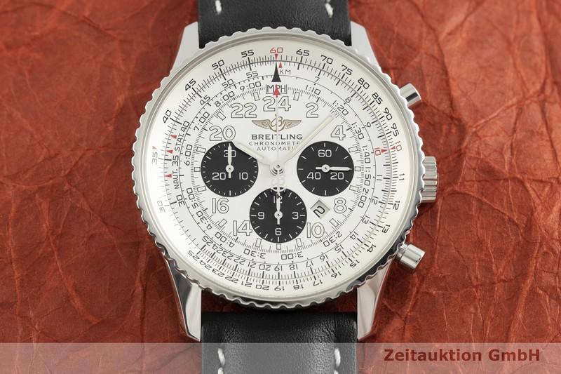 gebrauchte Luxusuhr Breitling Navitimer Cosmonaute Chronograph Stahl Automatik Kal. B22, ETA 2892-A2 Ref. A22322    2002758 _1