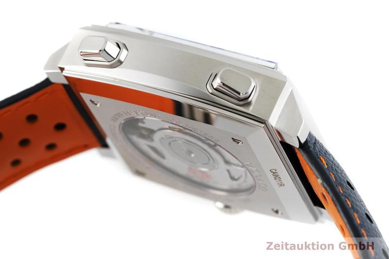 gebrauchte Luxusuhr Heuer Monaco Chronograph Stahl Automatik Kal. 11, SW 300-1 Ref. CAW211R    2002761 _0
