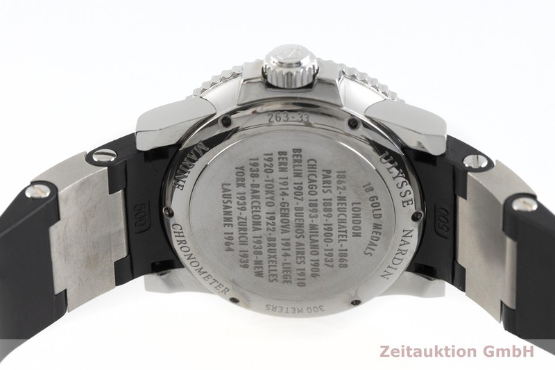 gebrauchte Luxusuhr Ulysse Nardin Marine Chronometer Stahl Automatik Kal. ETA 2892-A2 Ref. 263-33-3  | 2002762 _0