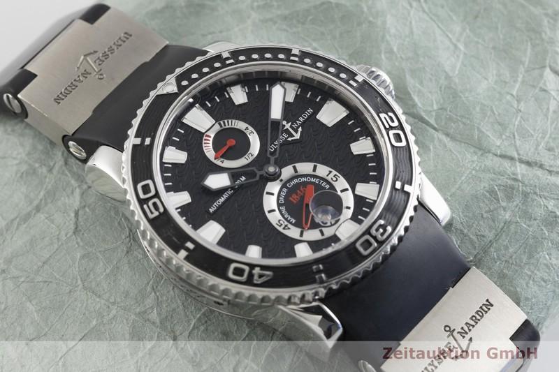 gebrauchte Luxusuhr Ulysse Nardin Marine Chronometer Stahl Automatik Kal. ETA 2892-A2 Ref. 263-33-3  | 2002762 _1