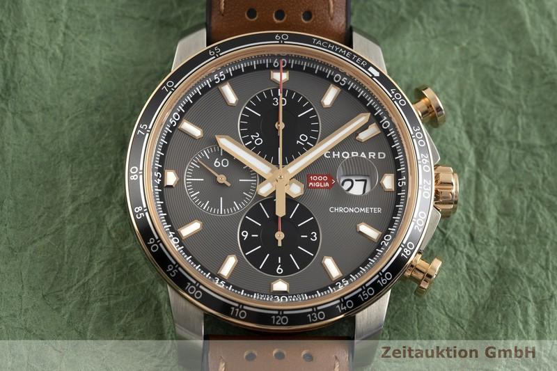 gebrauchte Luxusuhr Chopard 1000 Miglia Chronograph Stahl / Gold Automatik Kal. ETA 7750 Ref. 168571-6002    2002763 _1