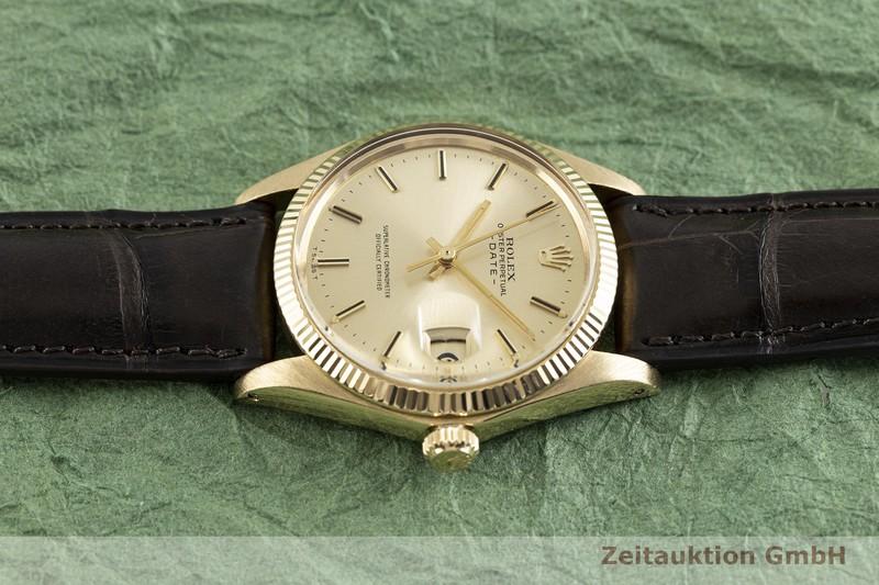 gebrauchte Luxusuhr Rolex Date 18k Gold Automatik Kal. 1570 Ref. 1503 VINTAGE  | 2002764 _0