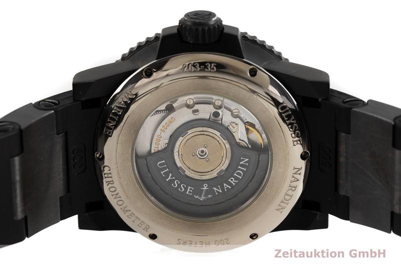 gebrauchte Luxusuhr Ulysse Nardin Marine Chronograph Chronograph Stahl Automatik Kal. UN026 Ref. 263-35 LIMITED EDITION   2002766 _0