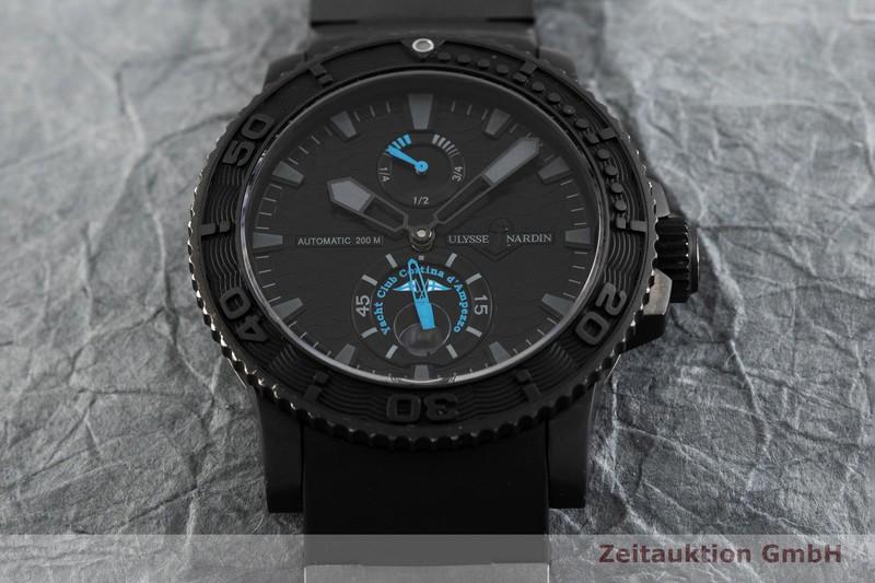 gebrauchte Luxusuhr Ulysse Nardin Marine Chronograph Chronograph Stahl Automatik Kal. UN026 Ref. 263-35 LIMITED EDITION   2002766 _1