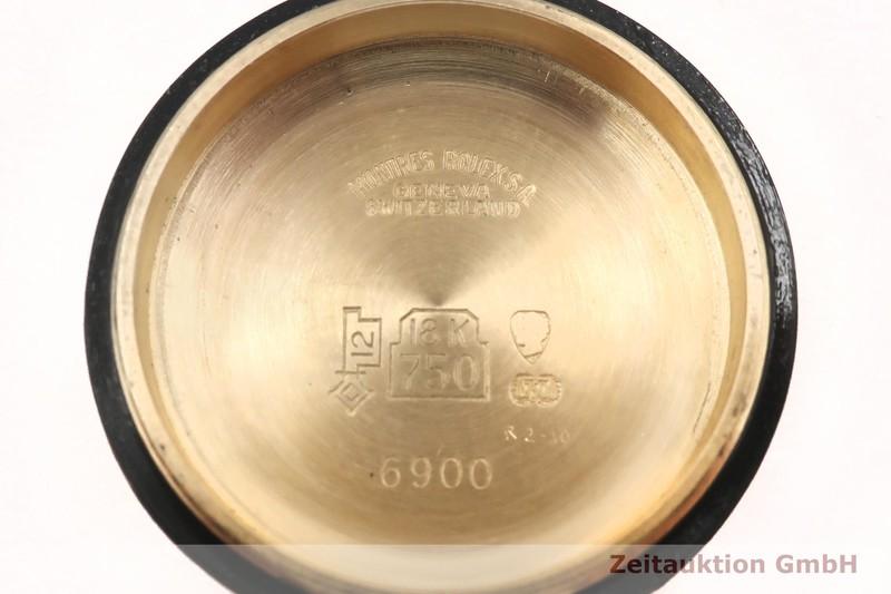 gebrauchte Luxusuhr Rolex Lady Datejust 18k Gold Automatik Kal. 2030 Ref. 6916    2002767 _0