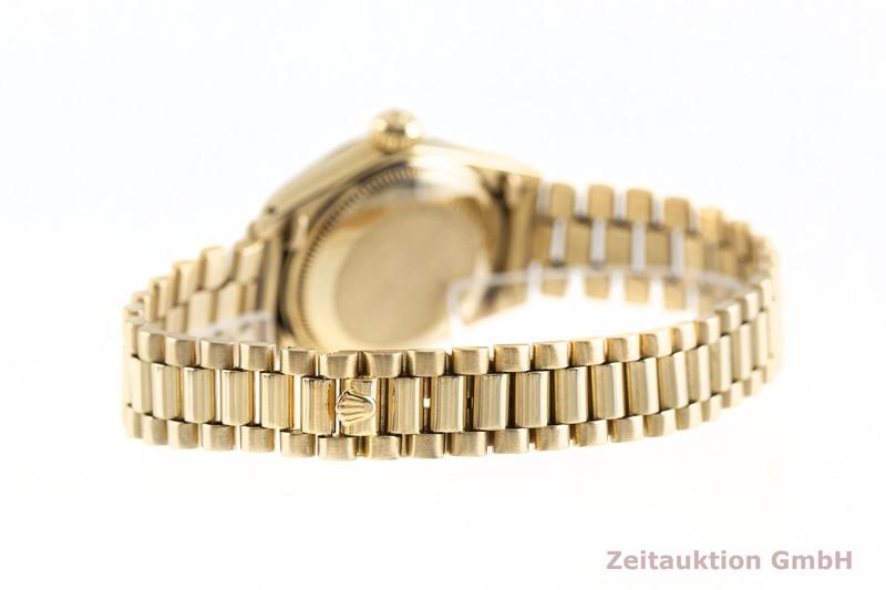 gebrauchte Luxusuhr Rolex Lady Datejust 18k Gold Automatik Kal. 2030 Ref. 6916    2002767 _1