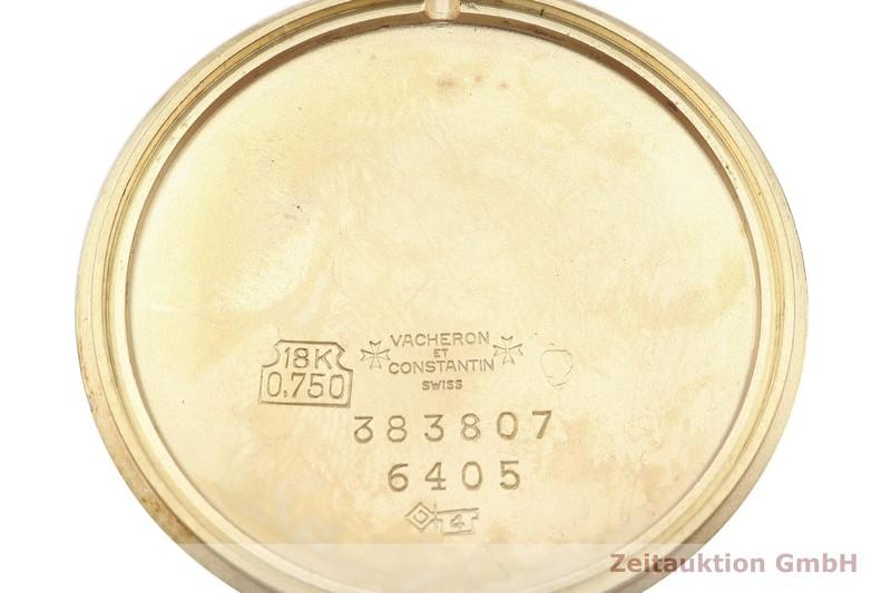 gebrauchte Luxusuhr Vacheron & Constantin * 18k Gold Handaufzug Kal. K1001 Ref. 6405  | 2002768 _0
