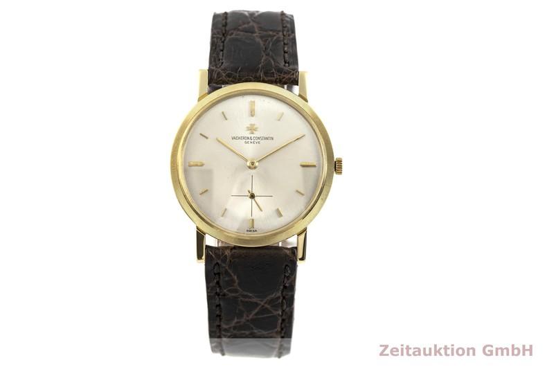 gebrauchte Luxusuhr Vacheron & Constantin * 18k Gold Handaufzug Kal. K1001 Ref. 6405  | 2002768 _1