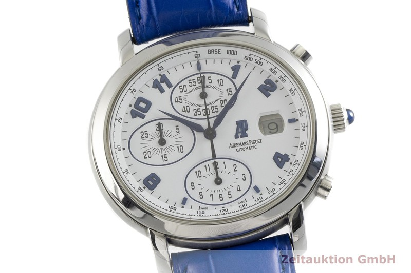 gebrauchte Luxusuhr Audemars Piguet Millenary Chronograph Stahl Automatik Kal. 2226 Ref. 25822ST    2002772 _0